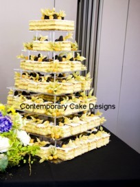 Mille Feuille Contemporary Cake Designs