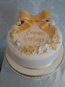 Contemporary Cake Designs - Christmas Cake