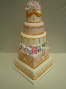 Entering a new era of wedding cakes