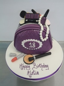 18th girl birthday cake