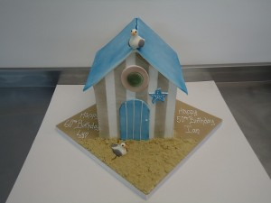 Contemporary Cake Designs have baked a bespoke cake for the bank holiday weekend.