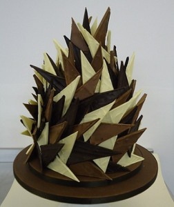 chocolate arrows cake