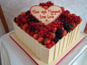 decorative fruit cake