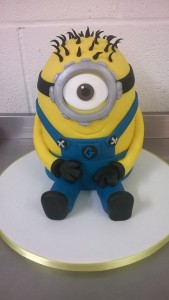 Minion novelty cake