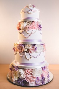 wedding cake tower