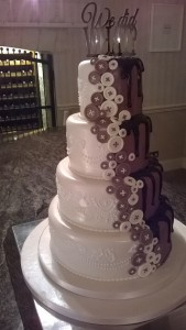 white chocolate we did what wedding cake