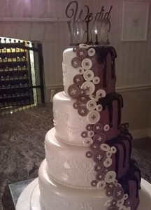 chocolate what we did wedding cake