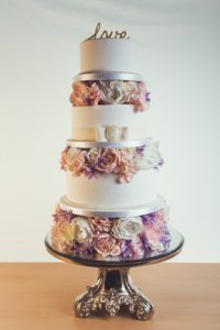 4-tier-purple-white-wedding-cake